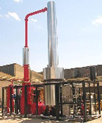 Distiller column