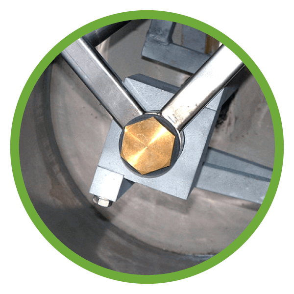 Dynamic self cleaning boiler drum