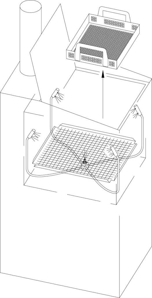 174C-Automatic Washer Internal