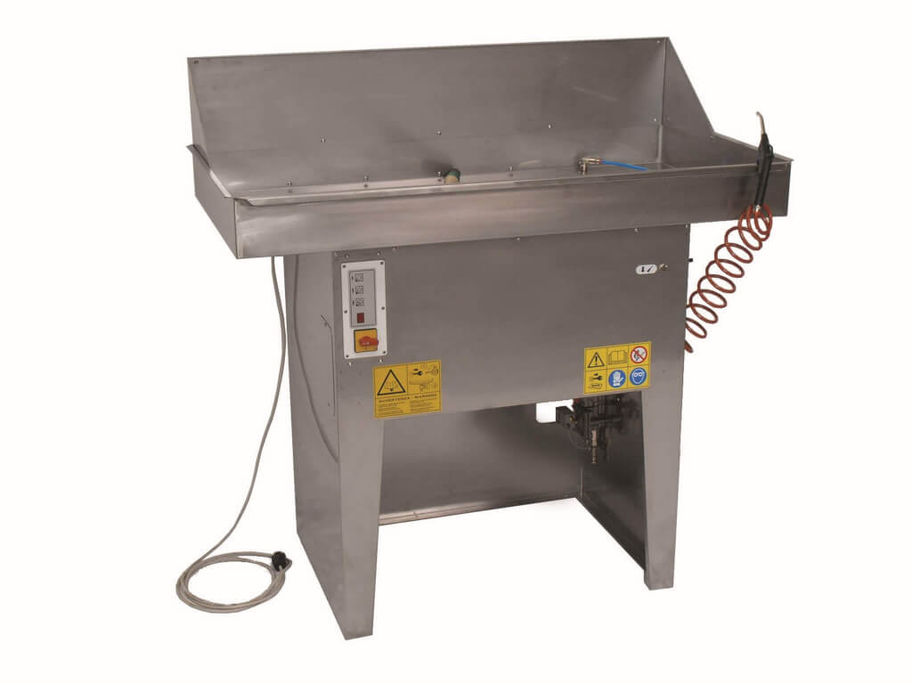Large Manual Heated Water Parts Washer - 595B