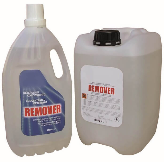 Remover additive for improved cleaning