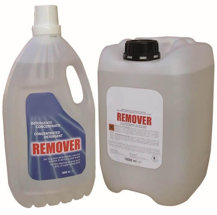 Paint gun cleaner Detergent