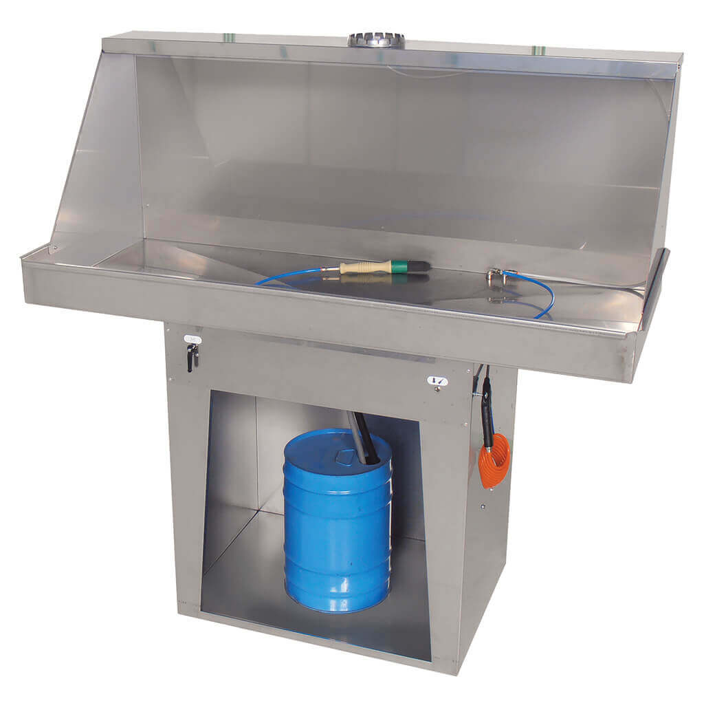 Large ATEX Solvent Parts Washer 530 With Extraction