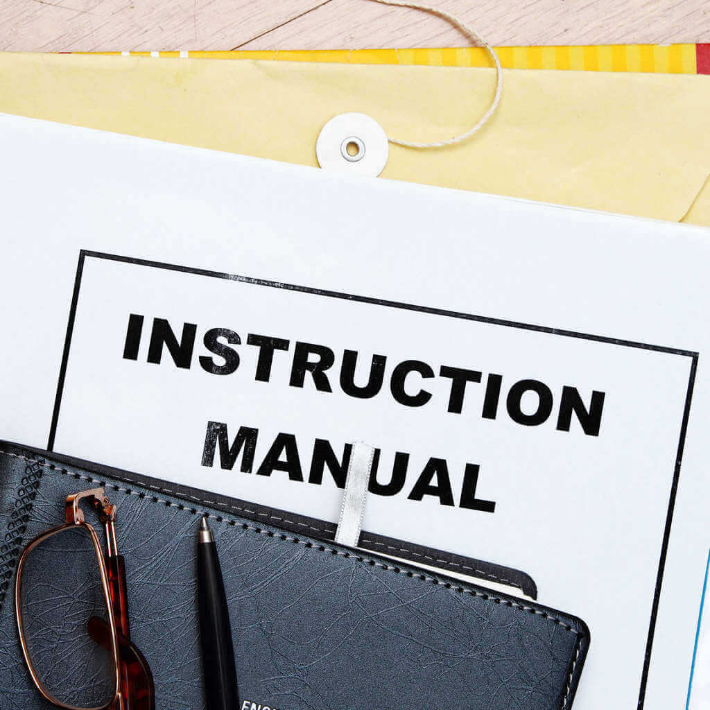 Request an Instruction Manual