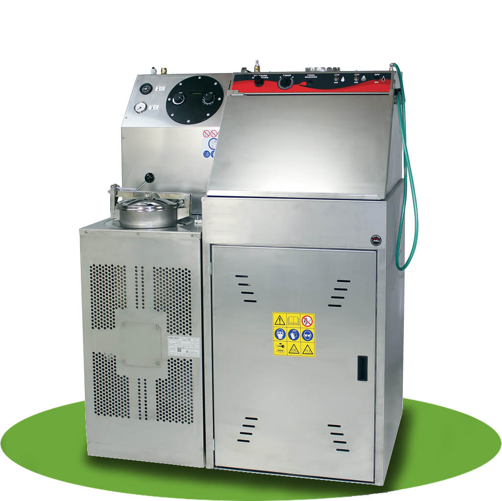 Combination Spray gun washer and solvent recycler